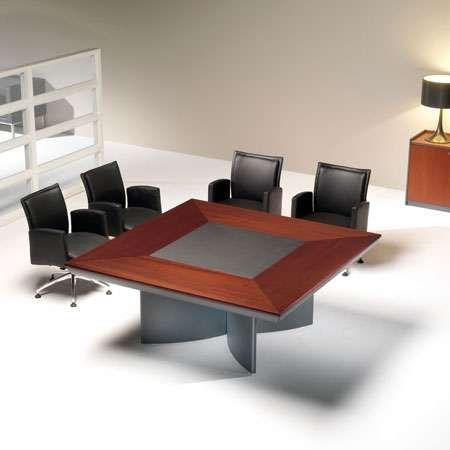Avant Executive Square Conference Table Square Wood Meeting Table - Square meeting table