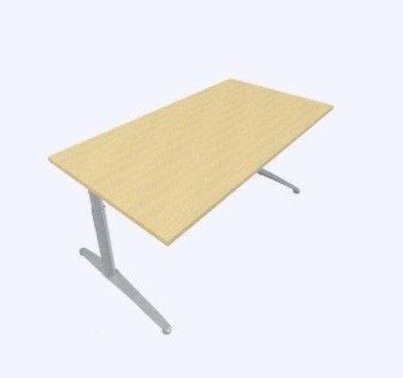 Assmann Canvaro Height Adjustable Rectangular fice Desk