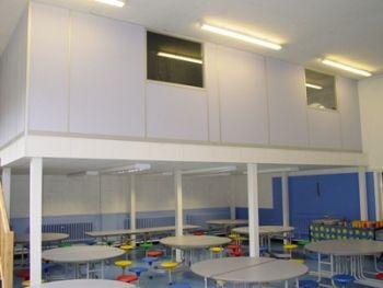 mezzanine floor office. New Mezzanine Floor - Office Space With Canteen Area