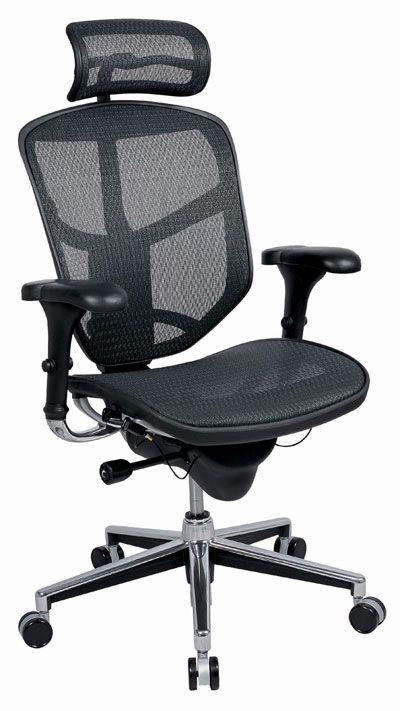 Fantastic Enjoy Ergonomic Mesh Desk Chair With Headrest Home Interior And Landscaping Ologienasavecom