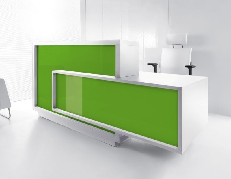 Foro High Gloss Reception Desks