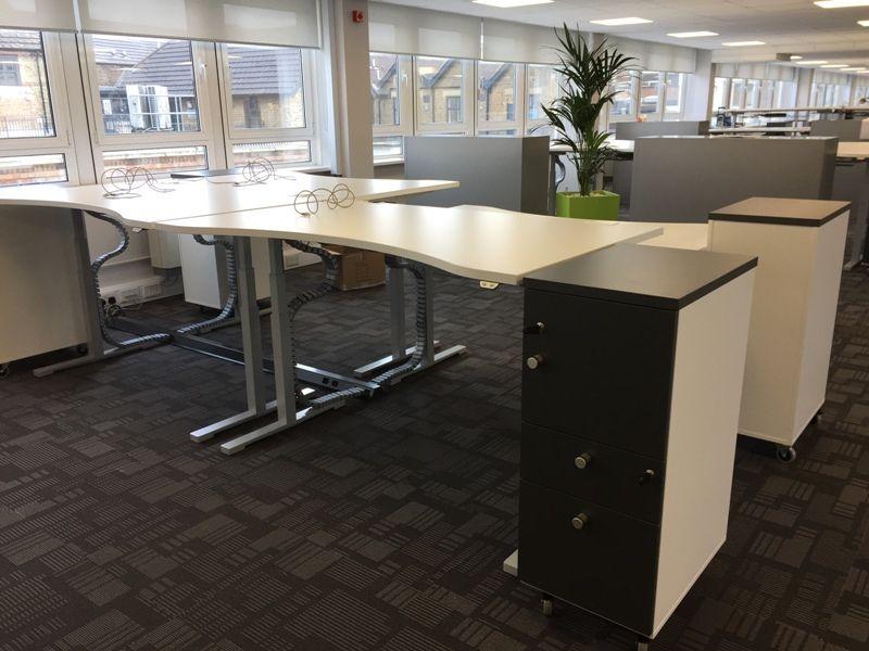 View Of Height Adjule Desks
