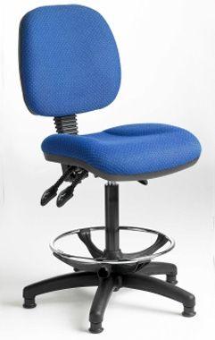 Standard office or industrial desk chair from aerofoil design - Standard desk chair height ...