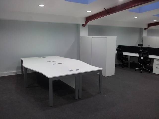 Qore office desk installation for chartwell controls in for Office design kent