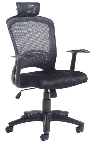 Solaris Mesh Back Operator Chair, Fabric Seat (DD)