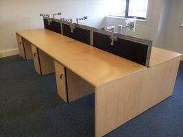 Sven Christiansen Ambus Bench Desk Installation In Kent By
