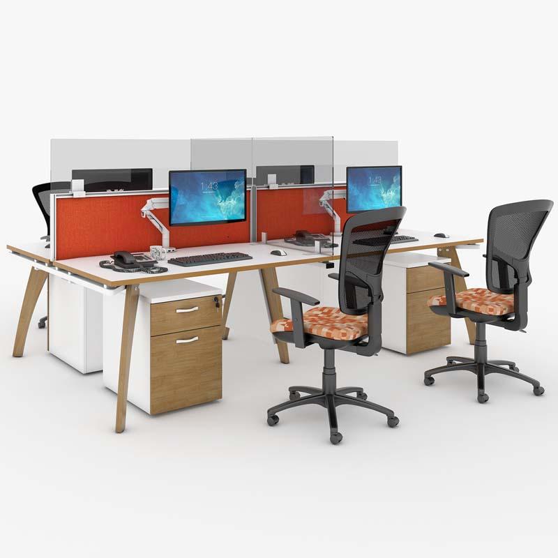 Covid 19 Protection Desk Divider Screen, Office Desk Divider Screens