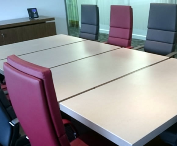 Executive Boardroom Furniture Installation