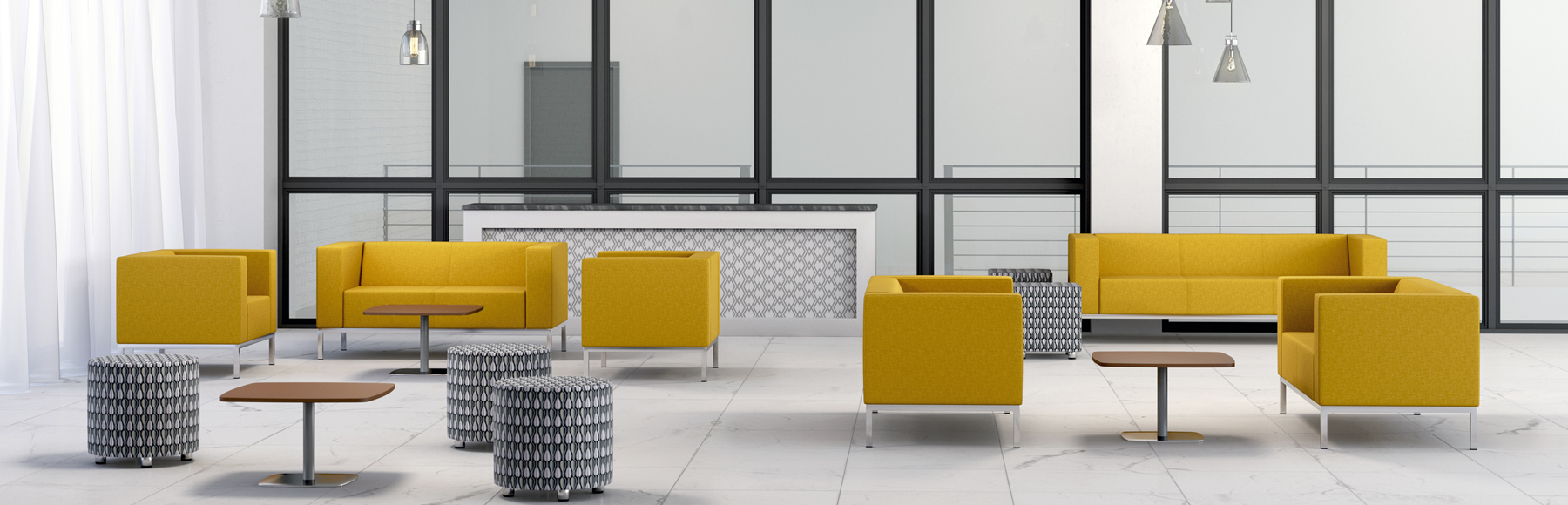 Box Reception & Breakout Seating