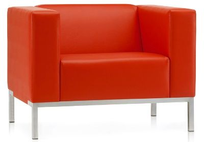 Box Single Seat Reception Sofa, Grp 3